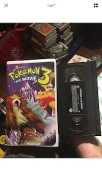 Pokémon The Movie 3 Spell of The Unknown Clamshell VHS Tape London, N6G 2Y8