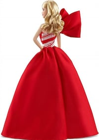 Barbie Blonde Holiday Red White Fashion Sparkle Jubilation Occasions Barbie New Brampton