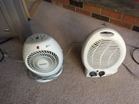 Set of 2 heaters both in great shape good for a 20x20 room both with thermostats Burke, 22015