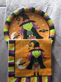 Halloween party plates n napkins  Chicago, 60643
