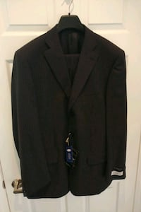 Brande New Suit w pants- Grey w pinstripes Oakville, L6M 4H6