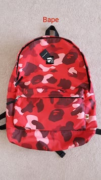 Vintage Bape backpack mint condition  Calgary, T2P 3T9