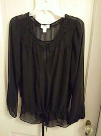 Ann Taylor sheer blouse Hagerstown, 21740
