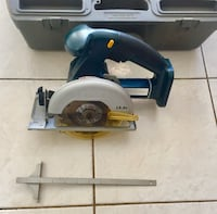 Ryobi 14.4 v , 5 .5 cordless circular saw , NO BATTER OR CHARGER  with case  excellent lightly used condition Wylie, 75098