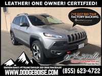 2015 Jeep Cherokee Trailhawk 4WD LEATHER! ONE OWNER! Boise
