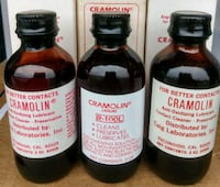2 Oz bottle of Red cramolin contact cleaner Woodstock, 22664