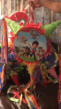 Multicolored paw patrol pinata Indianapolis, 46227