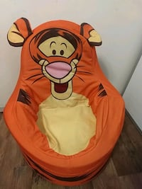 Toddler tigger chair and play house