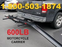 New 600 lb Dirt Bike Motorcycle Carrier for Tow Hi Santa Ana