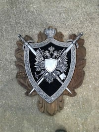 silver and black swords and shield decor Silver Spring, 20910