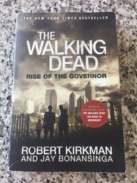 "The walking dead ""rise of the governor"" book Toronto, M4G 4K3"