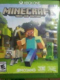 Minecraft Xbox One game case Converse, 78109