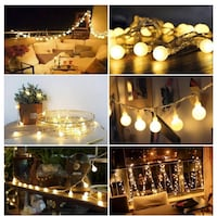 Brand New indoor/outdoor string lights pinterest 100led Edmonton, T6W 2X7