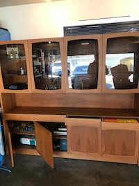 Teak cabinet w83 h 73 d 16 or interesting trades