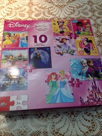 PRINCESS PUZZLES - 8 SEALED; 2 USED