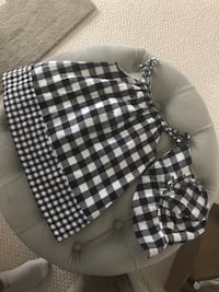 Gingham Dress and Hat (2T) Mississauga