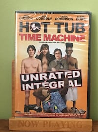 Hot Tub Time Machine DVD case Toronto, M1X 1V8