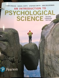 An Introduction to Psychological Science Vaughan, L4J 8L3