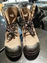 C brand new never used size 10 steel toe