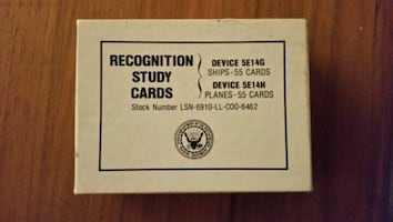 Original authentic Recognition Cards