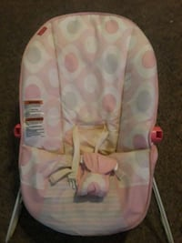 baby's pink and white bouncer Harlingen