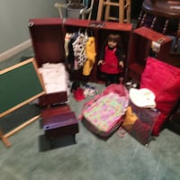 American Girl doll and wardrobe, desk, bed,etc Lutherville Timonium, 21093