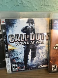 Sony ps3 call of duty world at war Houston, 77076