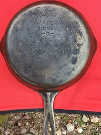WAGNER CAST IRON FRYING PAN 1056M no 6 Thomasville, 17364