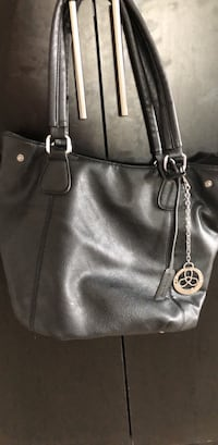 Black leather Laura bag  Brampton, L6P
