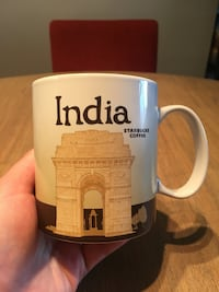 IndoaStarbucks Global Icon Series City Mug (NEVER USED) Arlington, 22201