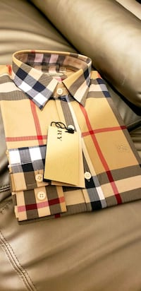 CLASSIC BURBERRY BUTTON UP SHIRTS FOR MEN Pleasant Hill, 94523