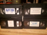 VHS movies Spruce Grove, T7X