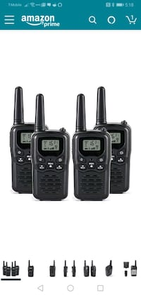 4 PACK Walkie Talkies Long Range 2-Way Las Vegas, 89139