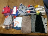 toddler's assorted clothes Langley Township, V3A 3K1