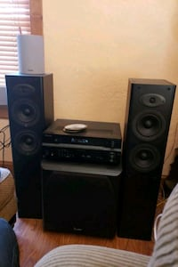 Loud home stereo with sub and speakers !!! Spokane, 99202