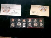 1988 PD coin set USA Sherwood Park, T8H 2G3