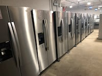 Stainless Steel Side By Side Refrigerator NEW Farmingdale, 11735
