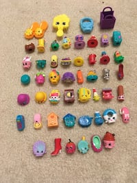 Shopkins Great Condition Coming from Pet free and Smoke free home 50 pieces  Toronto, M3B