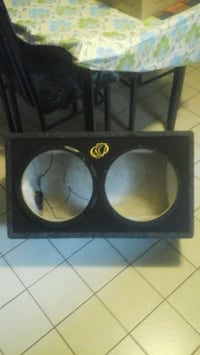 black and brown subwoofer speaker Brampton, L6X 1K1