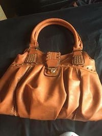 women's brown leather tote bag Sainte-Thérèse, J7E 4V8