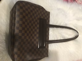 LOUIS VUITTON Damier Parioli PM Bag
