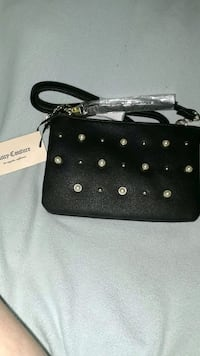 black and white leather wristlet Roseville, 95747