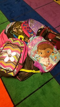 pink and black Hello Kitty backpack Dickerson, 21754