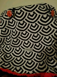 black and white zebra print textile El Mirage, 85335