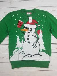 Ugly Christmas Mens Sweater New Size S