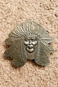 Sitting Bull belt buckle  Pueblo West, 81007