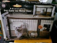 black and gray pet cage Independence, 64052
