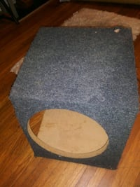 gray and brown subwoofer speaker Louisville, 40214