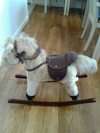CHRISHA PLAYFUL PLUSH Rocking Horse for small chil
