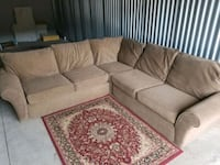 Chocolate sectional (i can deliver) Carnegie, 15106